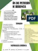 EXPOSICIÓN SOBRE ACCION DE PETICION DE HERENCIA.pptx