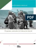 Programa Curricular Educacion Inicial