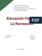 Educacion Física y La Recreación