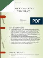 NANOCOMPUESTOS CRISTALINOS