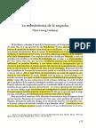 Gadamer (Sf) - La Hermenéutica de La Sospecha