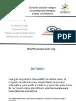 Presentacion GAI Universidad de Antioquia