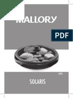 Manual Grill Solaris Mallory