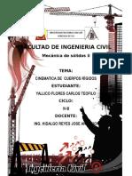 Cinematica de Un Cuerpo Rigido.