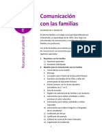 Comunicación Con Las Familias