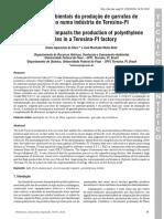 Impactos Ambientais da Produção de Garrafas Plásticas