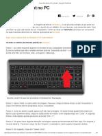 Como Tirar Print No PC