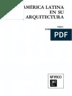 América Latina en Su Arquitectura-Roberto Segre (Relator)-1983-Libro