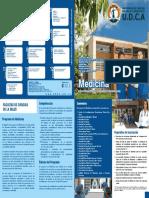 Plan de Estudios Medicina Universidad de Ciencias Aplicadas