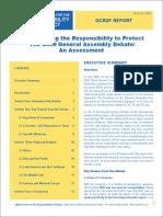 Gcr2p General Assembly Debate Assessment