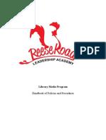 reese road - handbook of policies and procedures