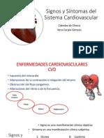 Definitivo Signos y Síntomas Del Sistema Cardiovascular