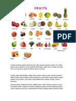 frutas, oficios