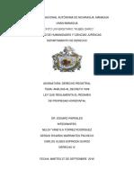 Derecho Registral - Propiedad Horizontal