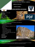 Geofísica en Filones