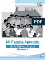 MODULO 1 PROGRAMA MI FAMILIA APRENDE MINEDUC GUATEMALA 2008