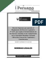 Reglamento Decreto Legislativo 1147