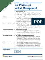 Web Content Management [November December 2009]