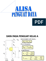 Analisa Penguat Daya