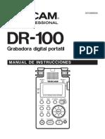 Dr-100 Manual Del Usuario Espanol Modelo Discontinuado
