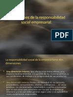 Dimensiones de La Responsabilidad Social Empresarial