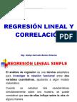 Analisis de Regresión Simple