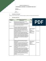 Sesion de Aprendizaje PDF