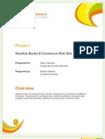 Ecommerce Design Proposal Sample