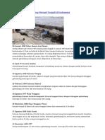 Bencana Tsunami Yang Pernah Terjadi Di Indonesia