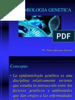 EPIDEMIOLOGIA GENETICA