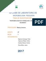 Informe 9  microbilogia