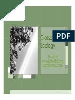 Glossary of Ecology v1.11.11