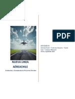 Análisis PEST Nueva Línea Aérea en Chile