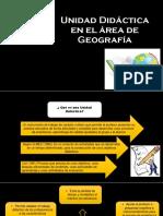 Unidad Didáctica en El Área de Geografía