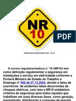NR 10 Apresentação