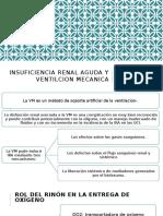 Insuficiencia Renal Aguda y Ventilcion Mecanica