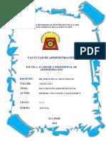 Documentos Administrativos II
