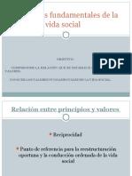 Los Valores Fundamentales de La Vida Social