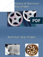 The Manufacture of Aluminium Alloy Wheels