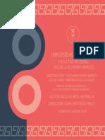 Culturas Endémicas del Ecuador - UDA