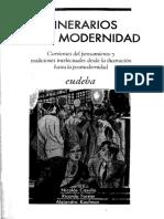 Itinerarios de La Modernidad Casullo Forster y Kaufman Eudeba 2009