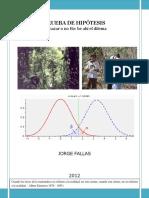 Prueba Hipotesis 2012