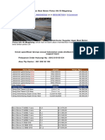 Distributor Supplier Agen Besi Beton Polos Ulir Di Magelang.docx
