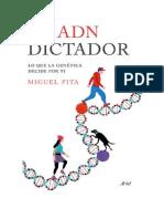 Descargar PDF eBook El Adn Dictador by Miguel Pita Epub
