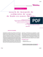 Modelo de transporte de sedimentos de carga de fondo en cauces fluviales.pdf