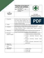 Sop Monitoring Status Fisiologi Pasien Selama Pemberian Anastesi Lokal Dan Sedasi