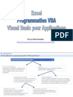 EXCEL - Cours - Programmation VBA