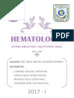Sistema Inmunitario y Neutropenia Febril Final
