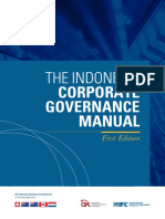 The Indonesia Corporate Governance Manual First Edition