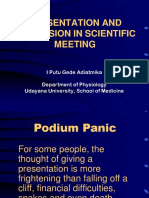 14 Med Com - Presentation and Discussion in Scientific Meeting
